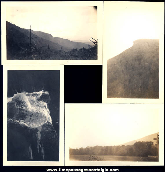 (43) Old White Mountains New Hampshire Tourist Photographs and Negatives