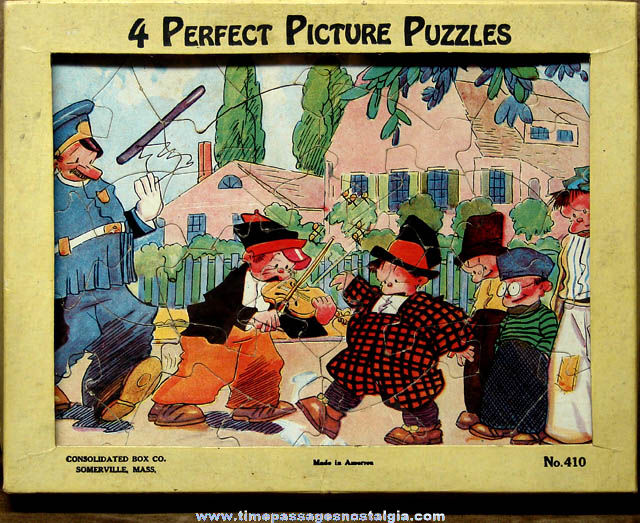 ©1932 King Features Syndicate Just Kids Comic Strip Character Jigsaw Puzzle