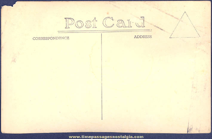Old Robinson Road Singapore Real Photo Post Card