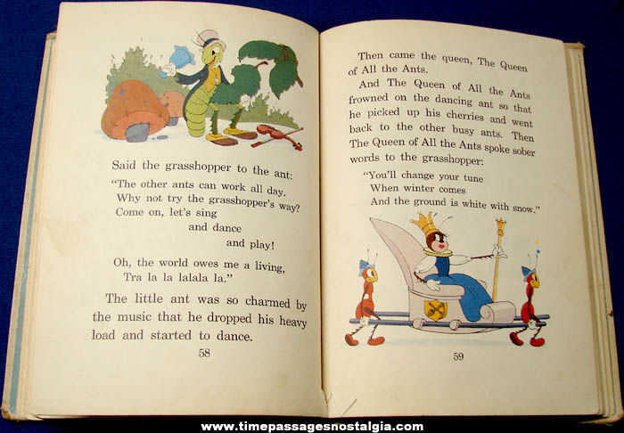©1939 Walt Disney Little Pig's Picnic and Other Stories Character Hard Back Book