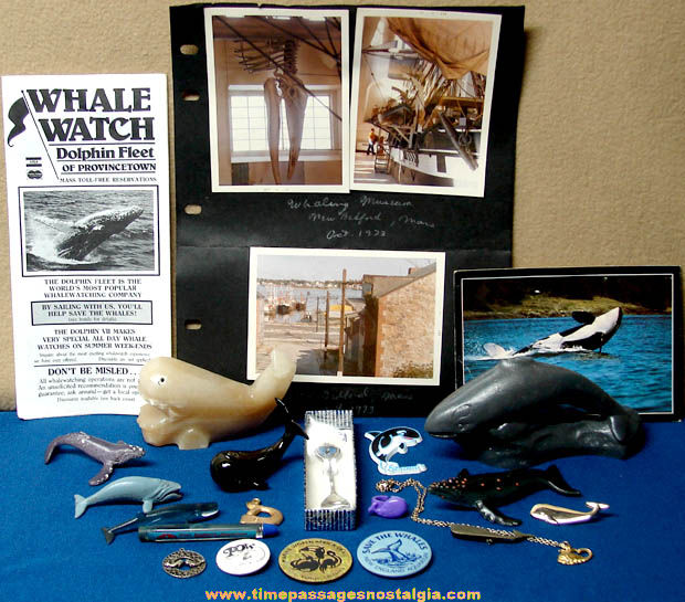 (24) Small & Miniature Whale Related Items