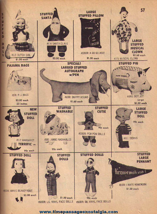 1967 U.S. Toy Company Carnival Prize & Supply Catalog on Compact Disk