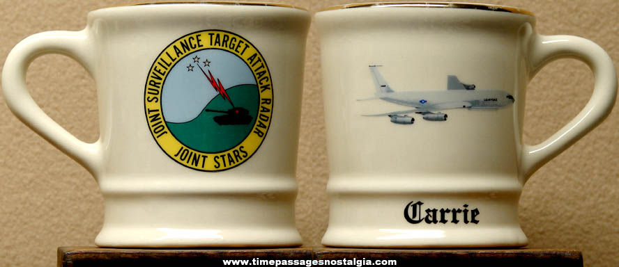 Joint Surveillance Target Attack Radar Ceramic or Porcelain Advertising Coffee Cup