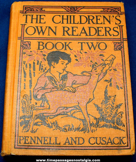 ©1929 The Children's Own Readers Book Two Story Book