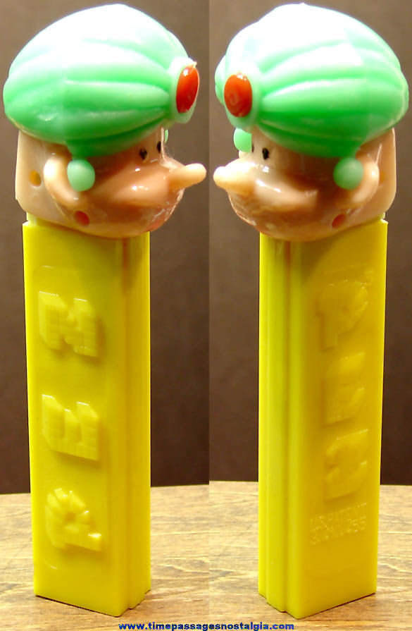 Old Maharajah Character Toy PEZ Advertising Candy Dispenser