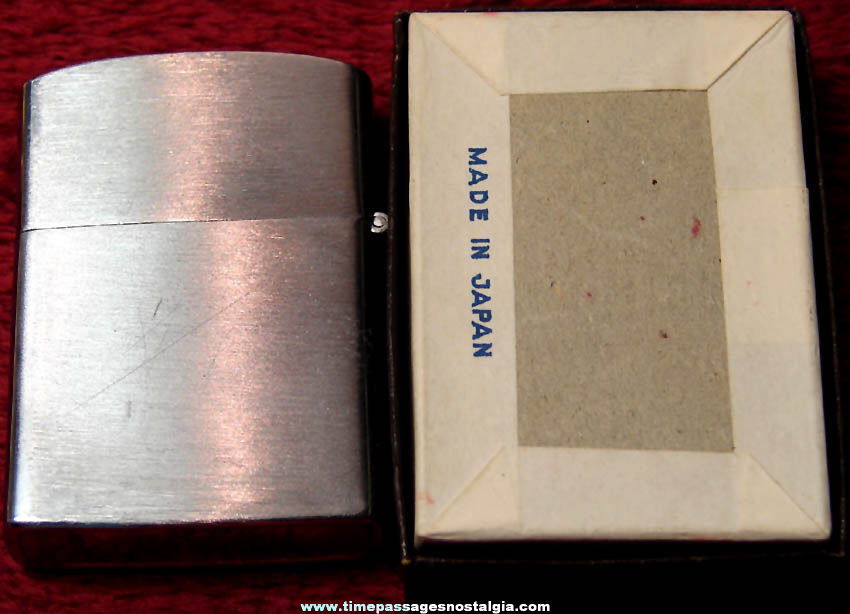 Old Unused & Boxed A.A.A. Vending Company Advertising Premium Nesor Cigarette Lighter