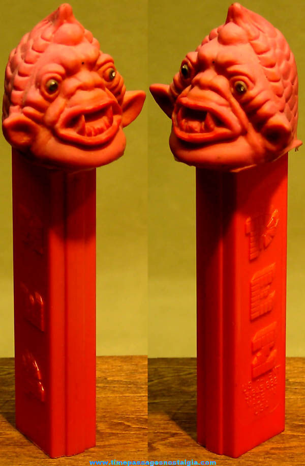 1970s Eerie Spectre Air Spirit Rubber Head Monster Character PEZ Advertising Candy Dispenser