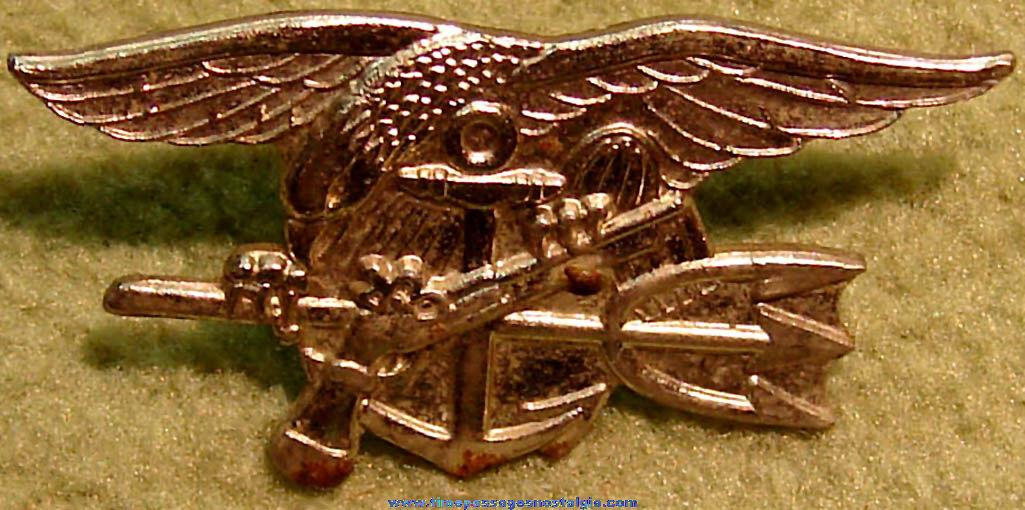 United States Navy SEAL Sailor Special Warfare Insignia Pin