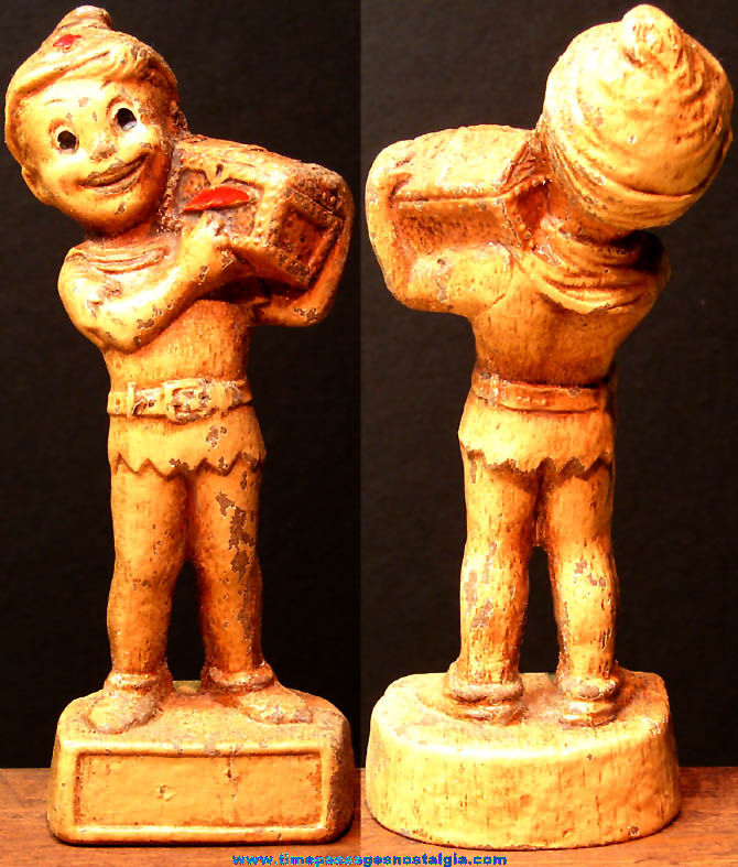 1950s Community Chest and Red Cross Campaign Award Peter Pan Statue Figurine