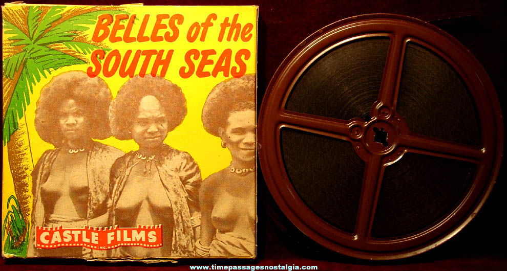 1944 Belles of The South Seas Castle Films 16mm Movie with Box