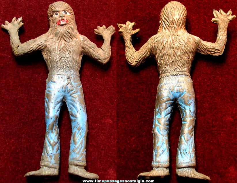 ©1979 Vic's Universal City Studios The Wolfman Rubber Monster Toy Figure