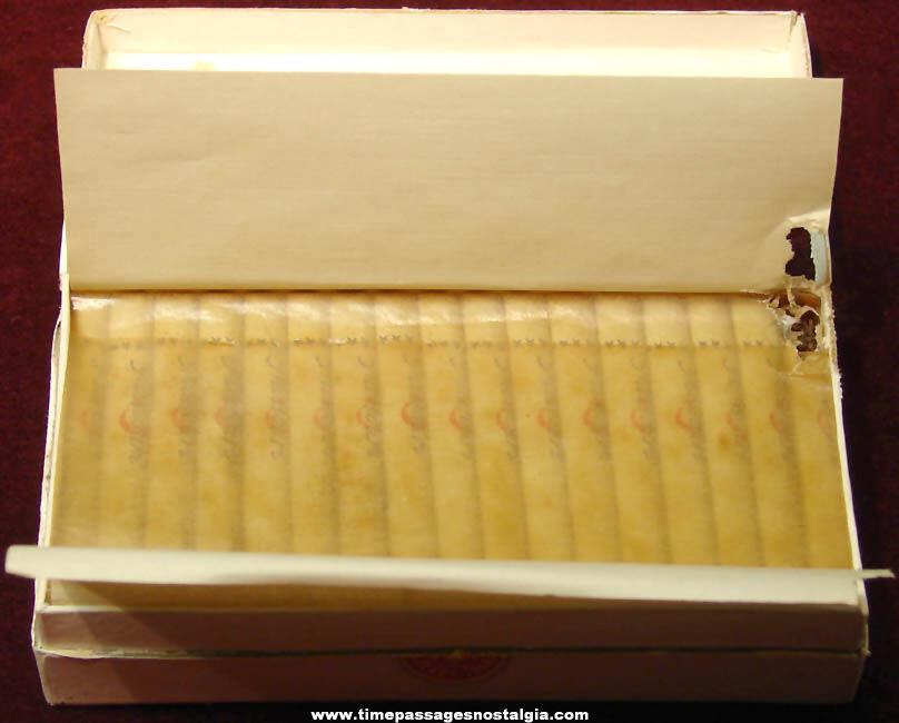 1946 Unused Box of U.S.S. Missouri (BB-63) Sailor Gifted Turkish Cigarettes