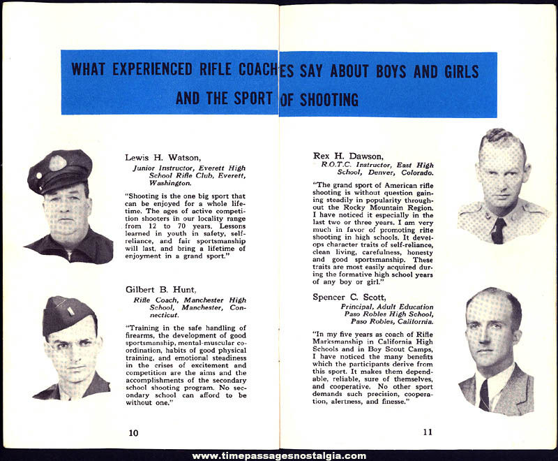 Old Sporting Arms and Ammunition Manufacturers' Institute Child Gun Booklet