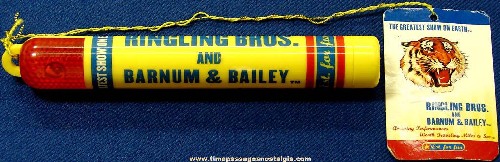 ©1997 Ringling Bros and Barnum & Bailey Circus Advertising Souvenir Light