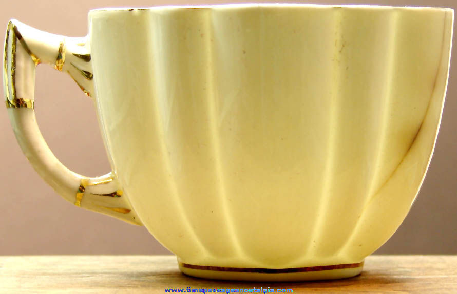 Early Hartford Vermont Library Advertising Souvenir Porcelain Tea Cup