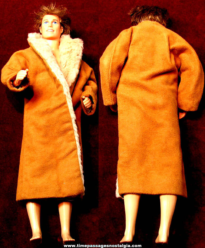 ©1968 Unidentified Mattel Toy Man Doll with Coat