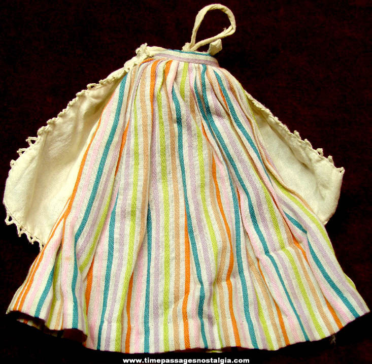 1964 Barbie In Holland Apron & Skirt Clothing Items