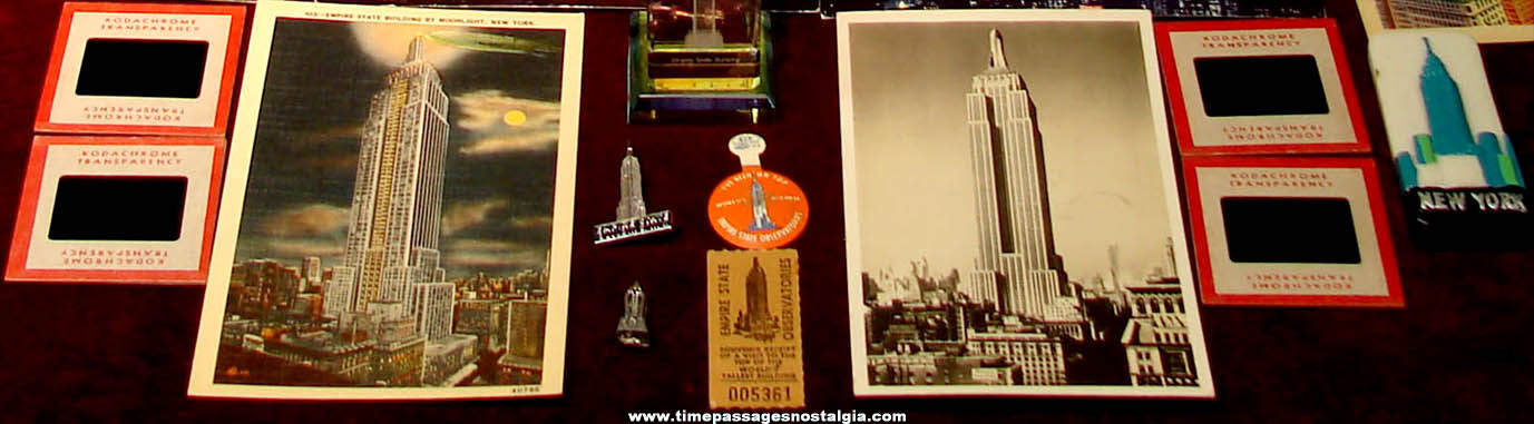 (28) Different Empire State Building New York City Advertising & Souvenir Items
