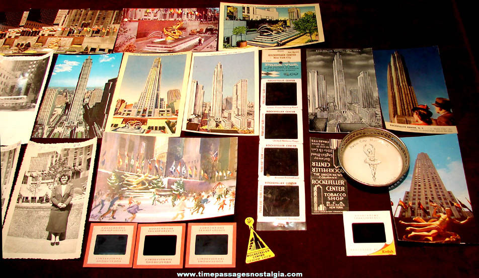 (30) Old Rockefeller Center New York City Advertising & Souvenir items