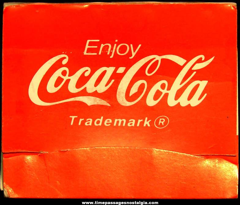 Coca Cola Advertising Premium Golf Ball Marker and Tee Set