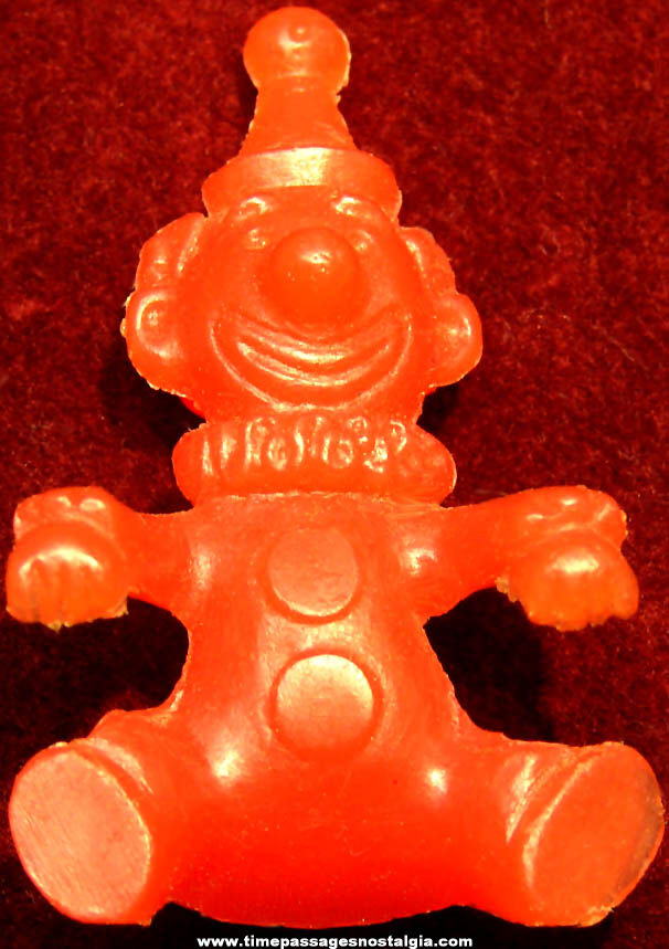 1961 Jolly Clown Breakfast Buddy Nabisco Cereal Prize Bowl Hanger