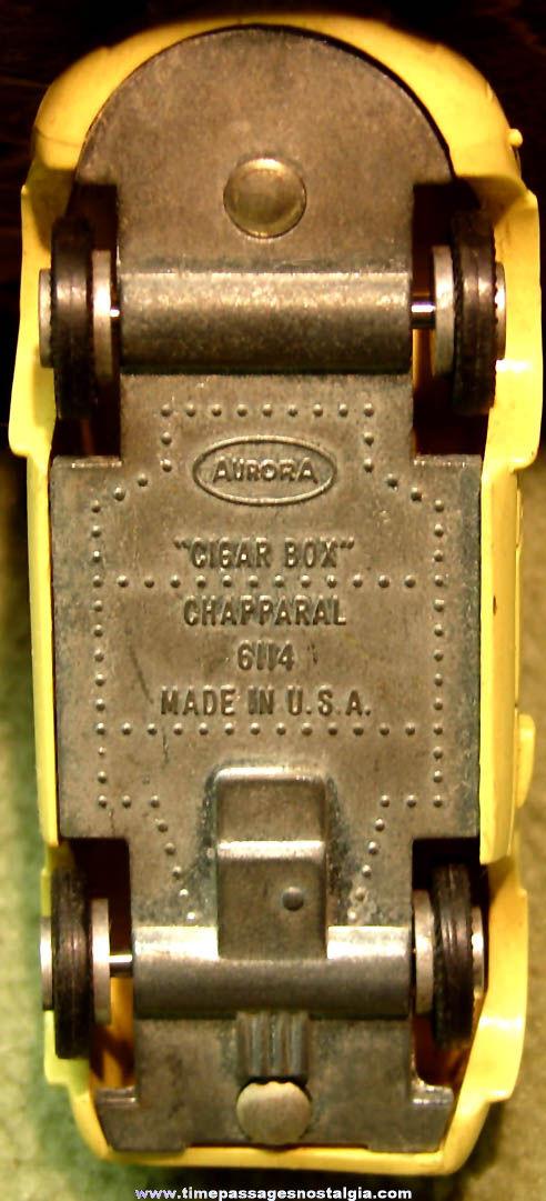 1960s Aurora Cigar Box Chapparal 6114 Toy Car