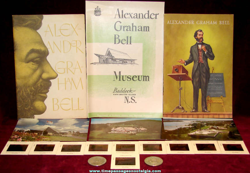 (18) Alexander Graham Bell Related Items