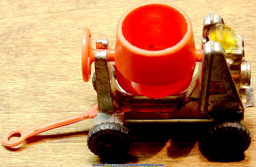 Old Corgi Juniors Die Cast Metal & Plastic Miniature Toy Cement Mixer