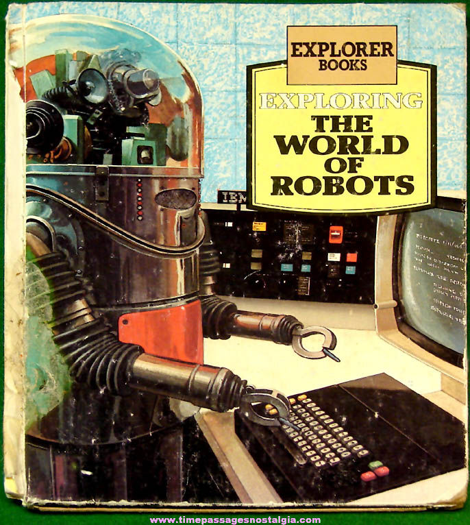 ©1978 Exploring The World of Robots Book