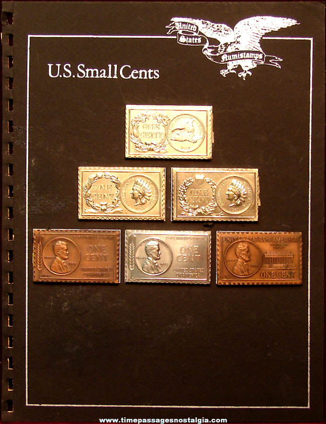 (6) Different ©1971 United States Small Cent Numistamps