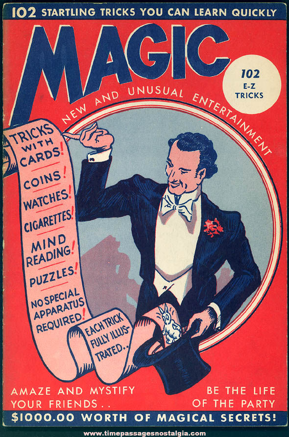 ©1944 Magic New and Unusual Entertainment Booklet