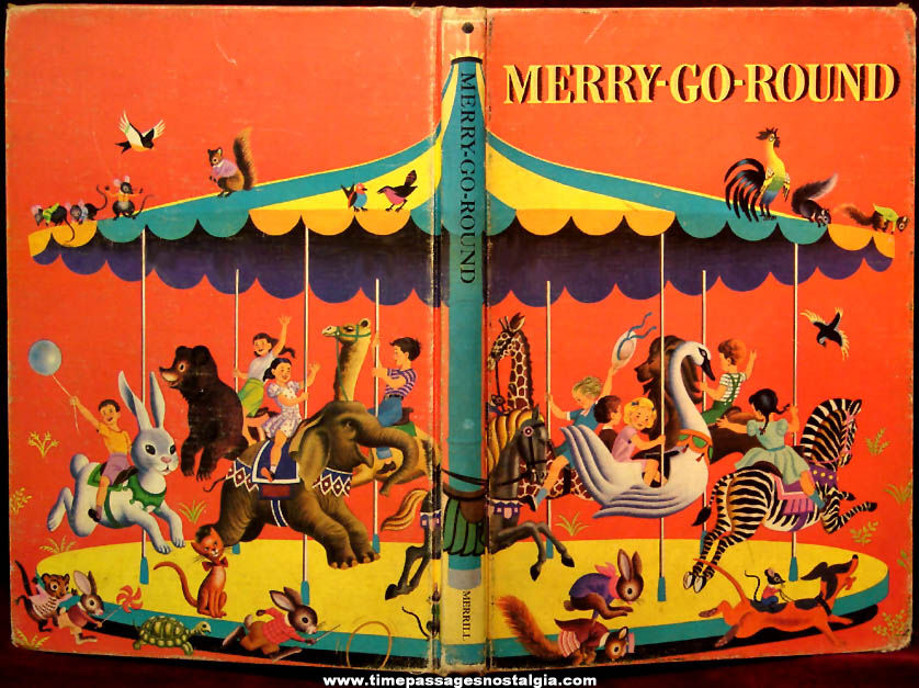 ©1960 Merry Go Round Children's Hard Back Story Book
