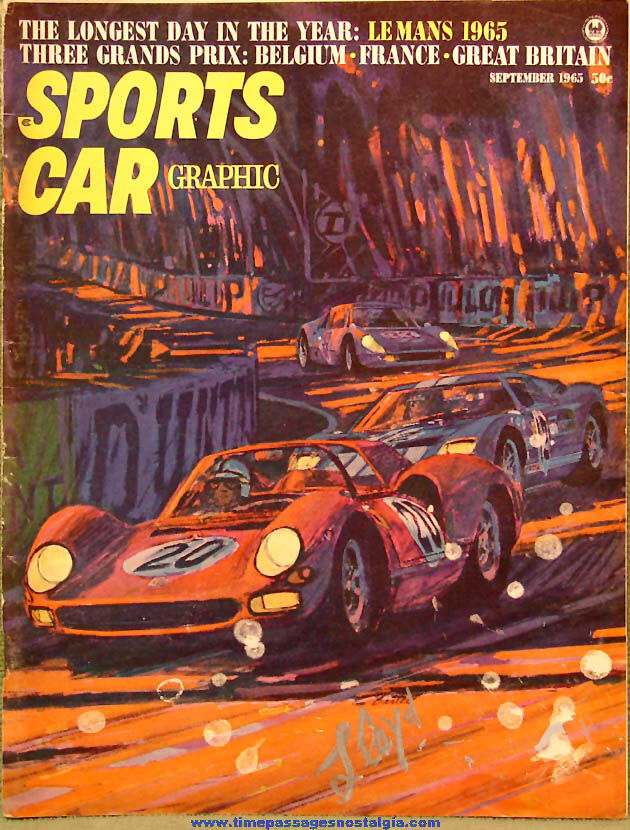 © September 1965 Sports Car Graphic Magazine Back Issue Volume 5 Number 5