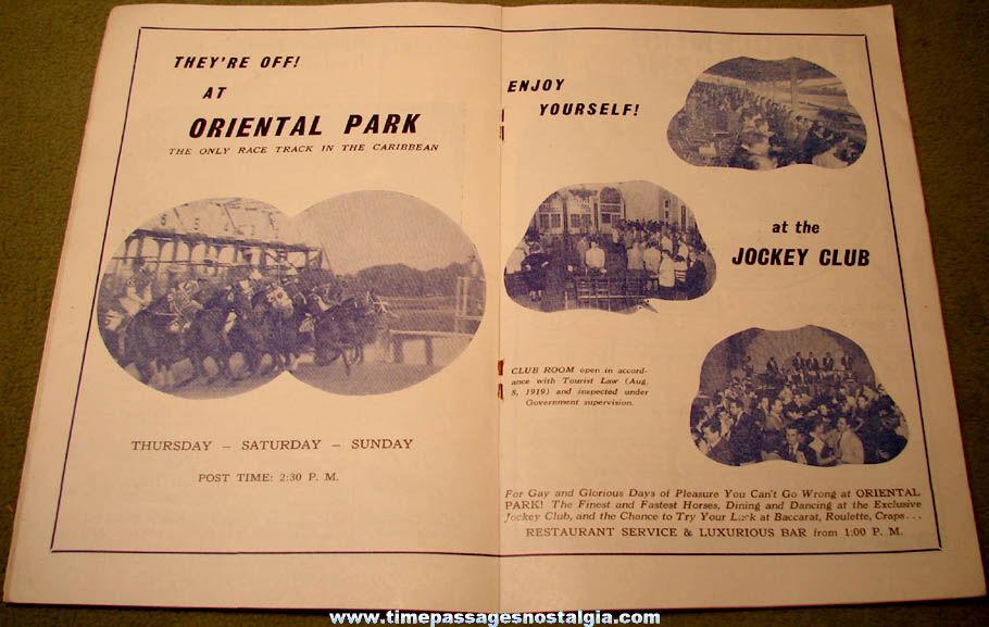 ©1954 Havana Cuba Tourist or Tourism News and Advertising Magazine