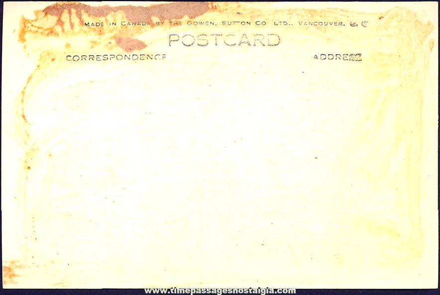 Old S.S. Princess Charlotte Cruise Ship or Ocean Liner Advertising Souvenir Post Card