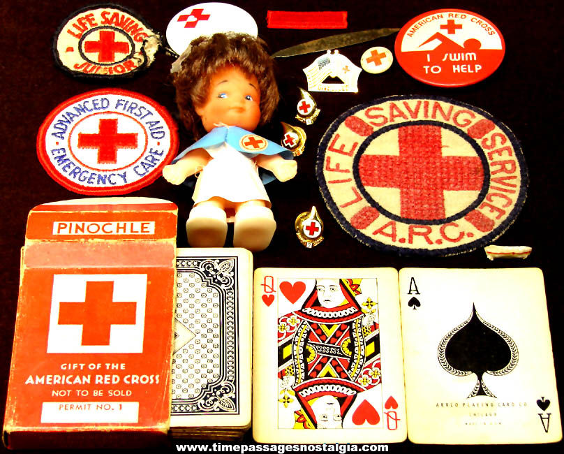 (15) Small Old American Red Cross Advertising or Premium Items