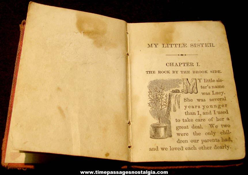Old My Little Sister Miniature Sunday School Union Book
