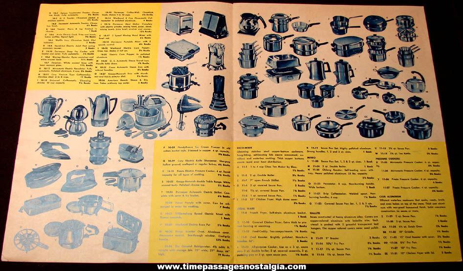 1950s Prudential Blue Ribbon Stamp Advertising Premium Catalog