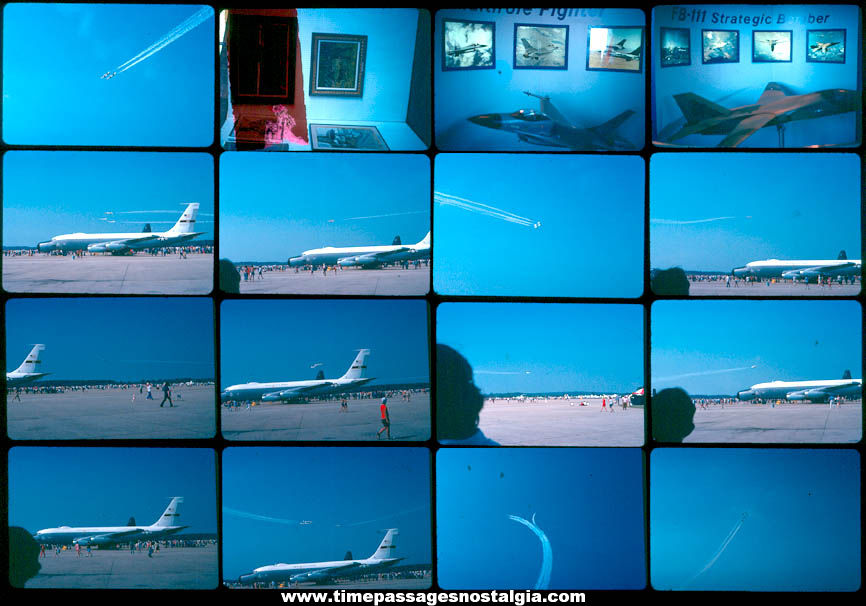 (43) Different 1978 Pease Air Force Base Air Show New Hampshire Color Photograph Slides