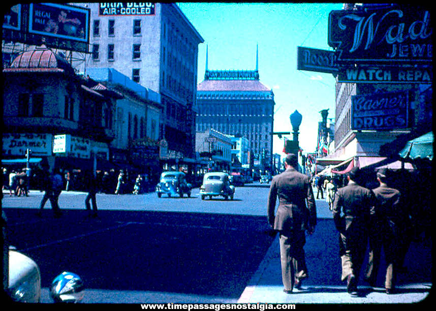 (15) 1944 & 1945 United States Army Soldier Kodachrome Color Photograph Slides