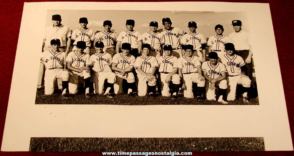 (25) ©July 1971 Conway & North Conway New Hampshire Area Little League Baseball Team Photographs