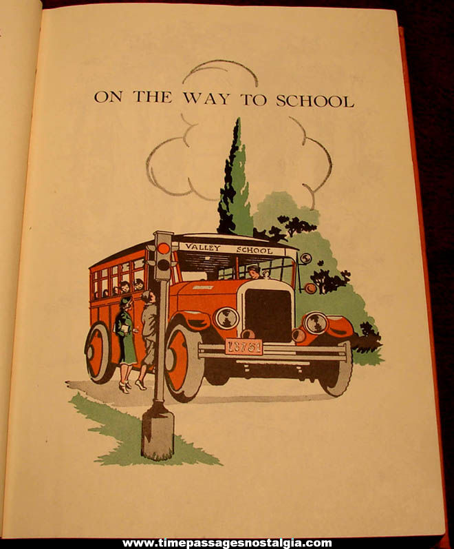 ©1938 The Road To Safety Here and There Hard Back Book