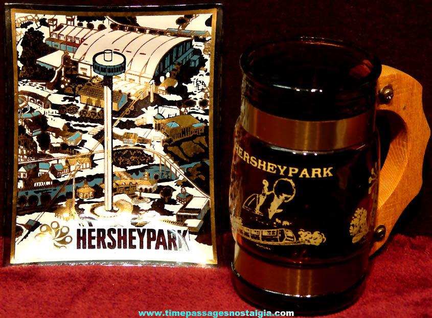 (2) Different Old Hershey Pennsylvania Amusement Park Advertising Souvenir Items