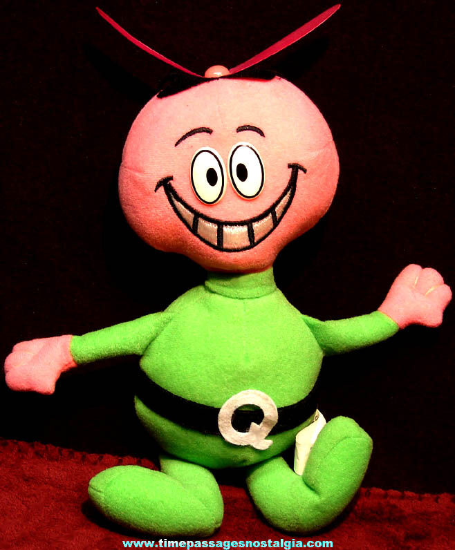 Quaker Oats Company Quisp Cereal Advertising Character Premium Toy Alien Doll