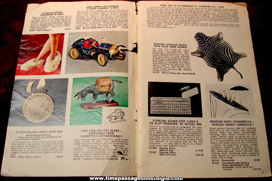 1960s A Man's World Gallery of Gifts and Novelty Catalog
