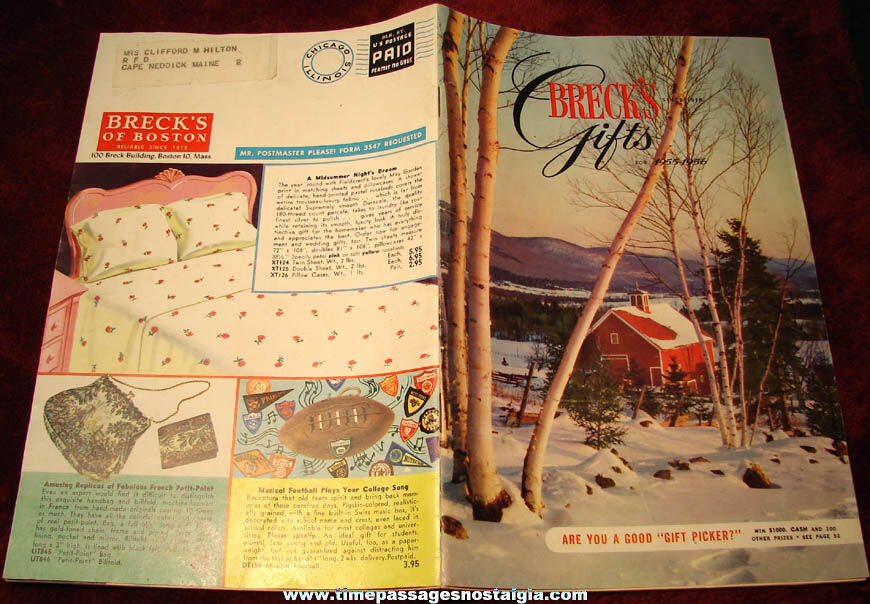 Novelty Gift Catalogs >> 1955 1956 Brecks Of Boston Gift And Novelty Catalog Tpnc