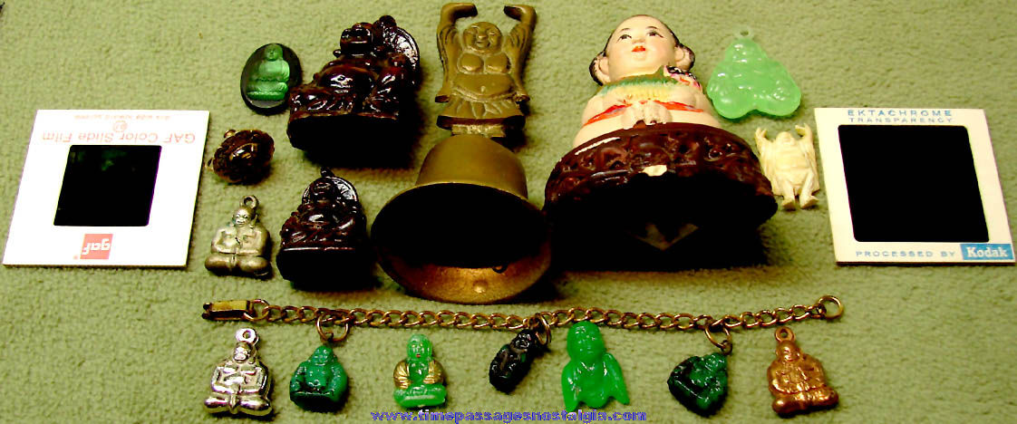 (18) Small Old Buddha or Buddhism Religious Related Items