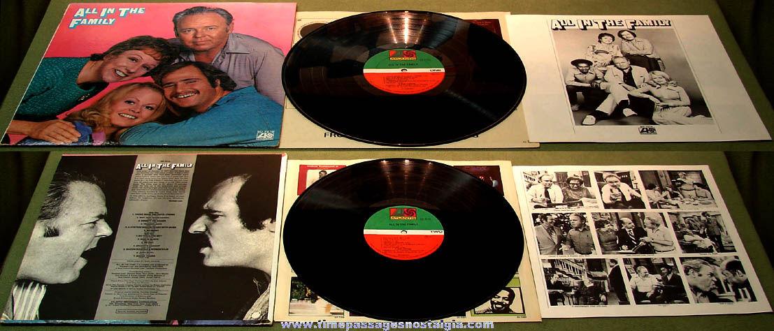 ©1971 All In The Family Television Show Atlantic Comedy Record Album