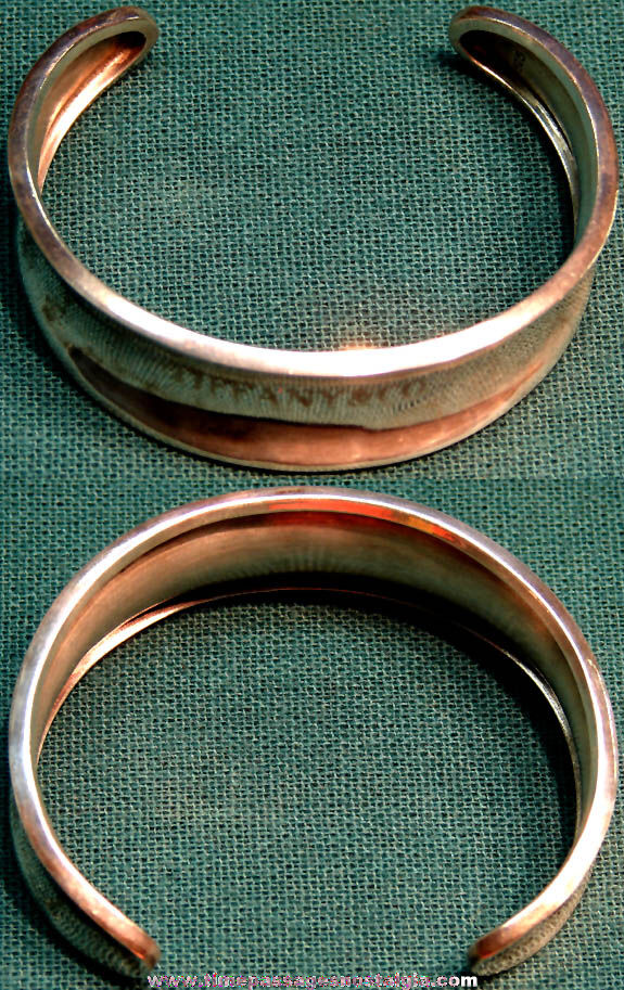 Tiffany & Company Engraved Sterling Silver Jewelry Bracelet