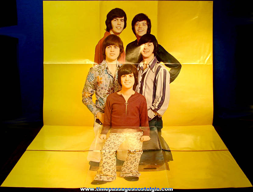 Colorful Giant Unused ©1971 Osmond Brothers Phase III Record Album Wall Poster